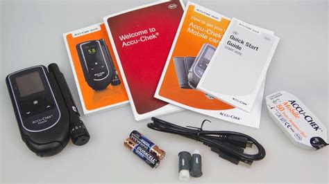 accuchek mobile accu chek mobile diabetic blood glucose meter review
