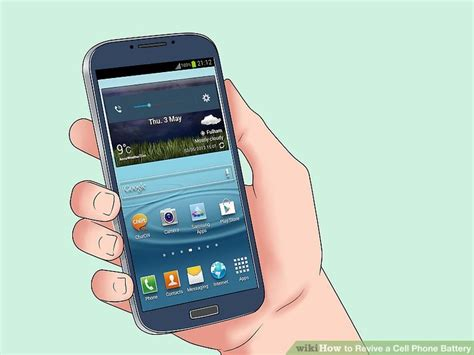 revive  cell phone battery  pictures wikihow