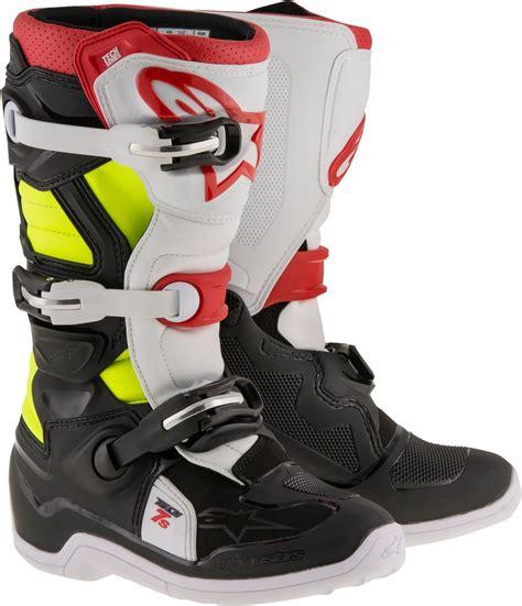 alpinestars motocross boots alpinestars youth boys tech 7s mx motocross offroad riding