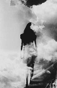 Women Walking Black and White