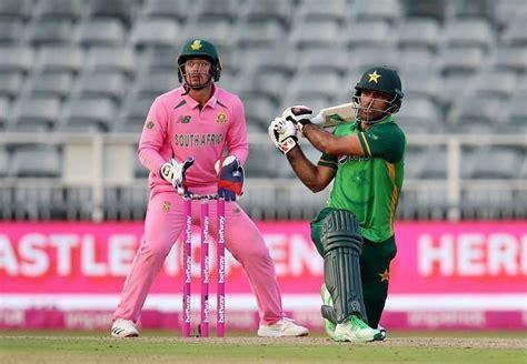 SA V PAK 2021 - Pakistan set to make two changes for final ...