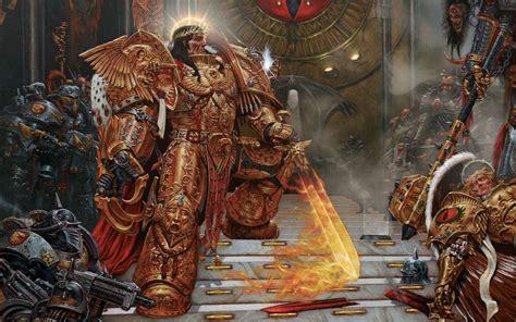 emperor  mankind stands   battered form