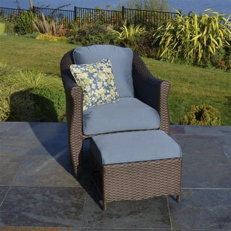 wicker chair with hidden ottoman google search
