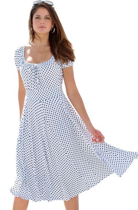 Peasant dresses plus size   PlusLook.eu Collection