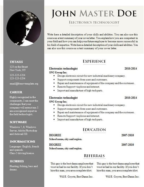 Free Cv Templates Downloads by Doc Resume Template Free Cv Template 681 687 Free Cv