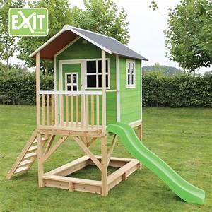kinder spielhaus exit loft 500 kinderspielhaus With französischer balkon mit garten kinderhaus