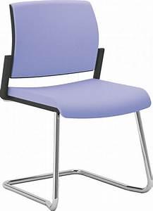 OFFICE 600 chaise de bureau ou réunion pied luge SEANROYALE