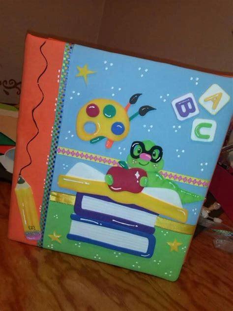 carpetas decoradas con reciclaje m 225 s de 25 ideas incre ni 241 os cuadernos decorados