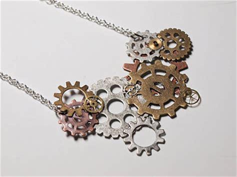 Cooklovecraft Diy Steampunk Gears Necklace
