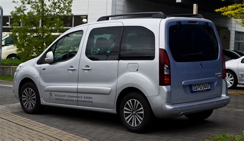 Peugeot Family by File Peugeot Partner Tepee Hdi 115 Family Ii Facelift