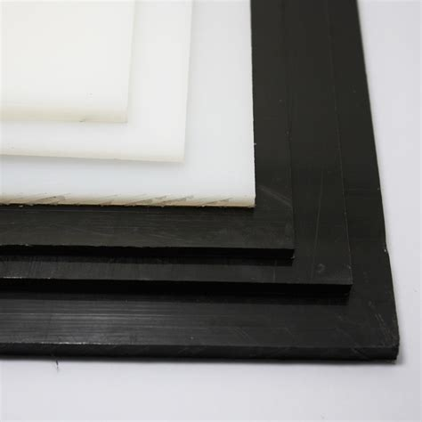 hdpe sheet black white polyethylene engineering plastic