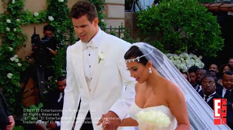 Kim Kardashian And Kris Humphries' Wedding