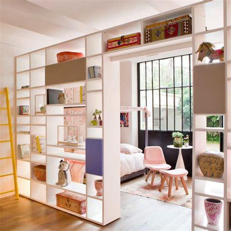 astuce pour separer une chambre en 2 isa mo bibliothèque traversante pour séparer une pièce