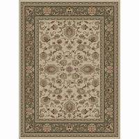 home depot rugs Tayse Rugs Sensation Ivory 7 ft. 10 in. x 10 ft. 3 in ...