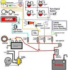 Caf 150 Electrical Wiring Diagram by Wiring Harness 200 250cc Electric Start