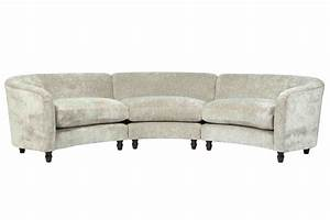 Small Curved Sectional Sofa Home Furniture Design