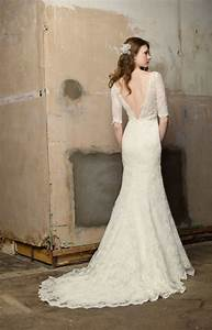 blog of wedding and occasion wear open back lace sleeved With wedding dress lace open back