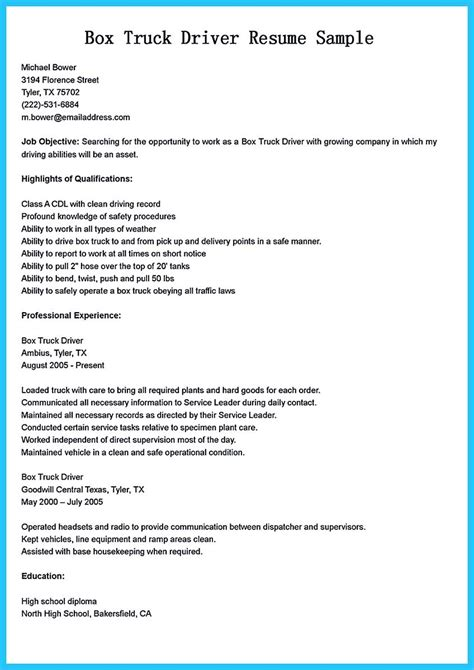 stunning bus driver resume  gain   bus driver job