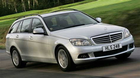 Mercedes C Class Estate Wallpapers by 2007 Mercedes C Class Estate Uk Wallpapers And Hd