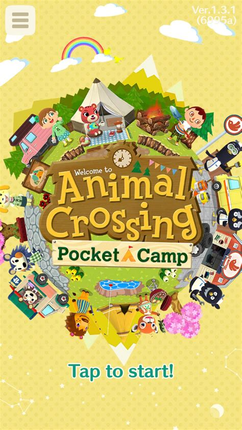 animal crossing pocket camp software updates latest