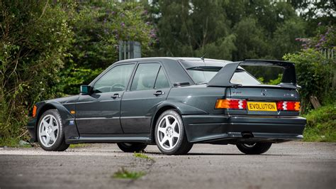 But the fact is most people. Mercedes 190E Evo II with 885 miles heads to auction