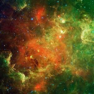 Swirling Landscape of Stars   NASA