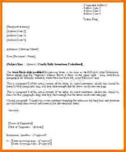 5 formal letter ending