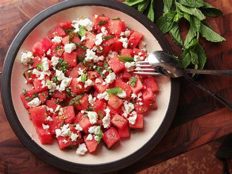 easiest summer      watermelon feta