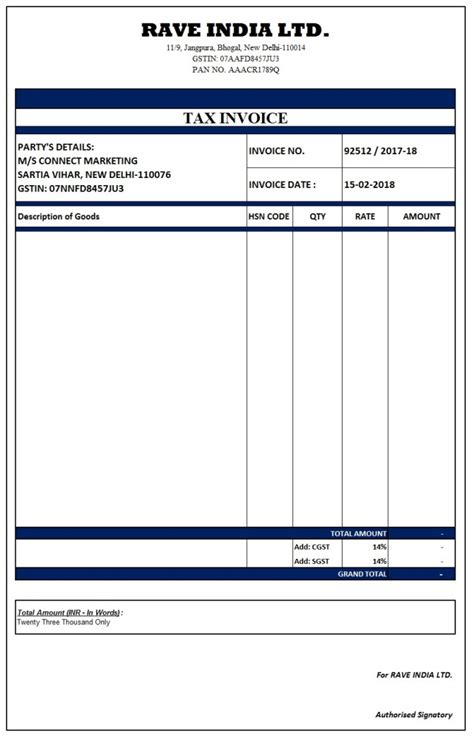 invoice template word document ledger paper