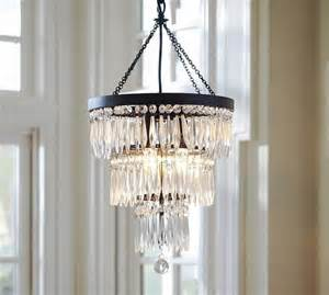 adele small chandelier pottery barn