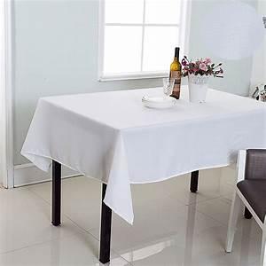 Nappe De Table Rectangulaire : nappe de table rectangulaire effet tiss uni best interior ~ Teatrodelosmanantiales.com Idées de Décoration