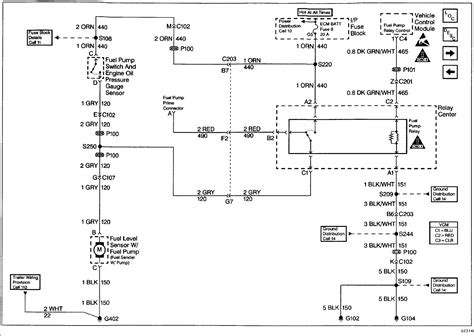 97 S10 Fuse Diagram by 1997 Chevy Blazer No Power To The Fuel Could You Get