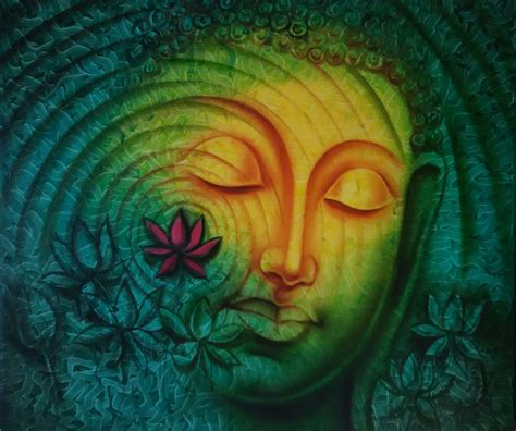 vishnu rajputs contemporary lord buddha