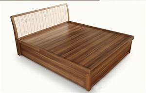 QA02 Modern Wood Double Bed Designs With Box/latest Wooden ...