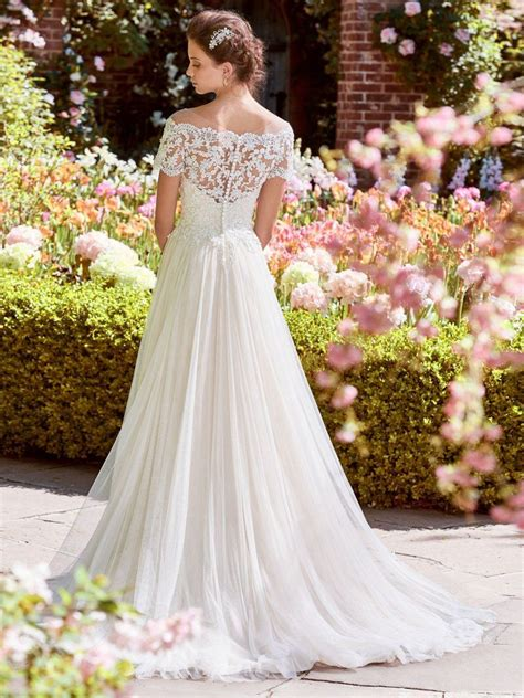 michelle 8rn456 a line wedding dress by rebecca ingram