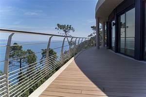 Garde Corps Terrasse Inox : garde corps inox design r gion canne bord de mer terrasse en bois paris par inoxdesign ~ Melissatoandfro.com Idées de Décoration