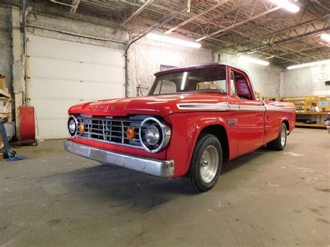 s 1966 dodge d100 fast freddies rod shop