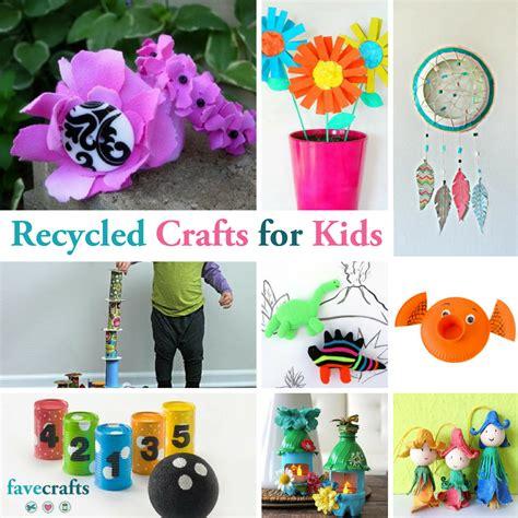 recycled crafts  kids favecraftscom