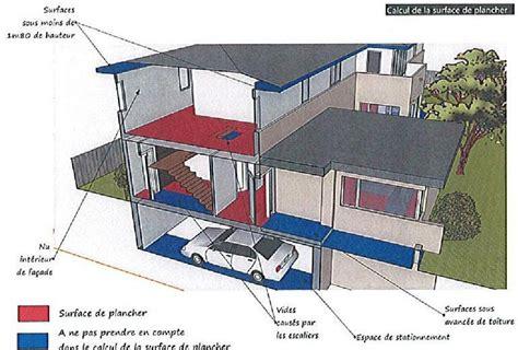 calcul surface toiture avec surface au sol mesurer les surfaces au sol r glementaires l 39