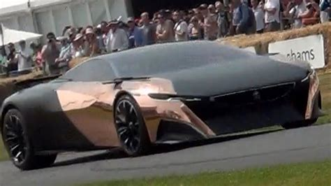peugeot onyx supercar concept goodwood festival of speed 2013 youtube