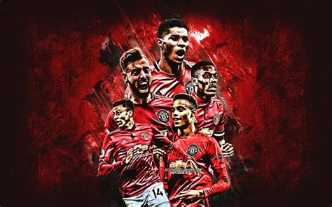 Download wallpapers Manchester United FC, english football ...