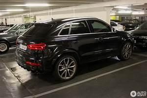 Audi Q3 Noir : audi rs q3 6 juli 2014 autogespot ~ Gottalentnigeria.com Avis de Voitures