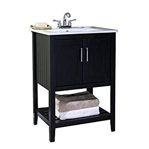Bathroom Vanity Without Sink by 24 Quot Espresso Sink Vanity Without Faucet Vanity Sinks