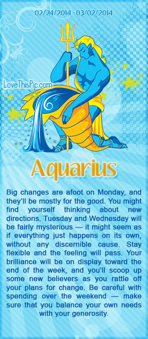aquarius horoscope pictures   images