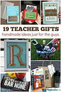 19 Best Teacher Appreciation Gifts for Men {homemade