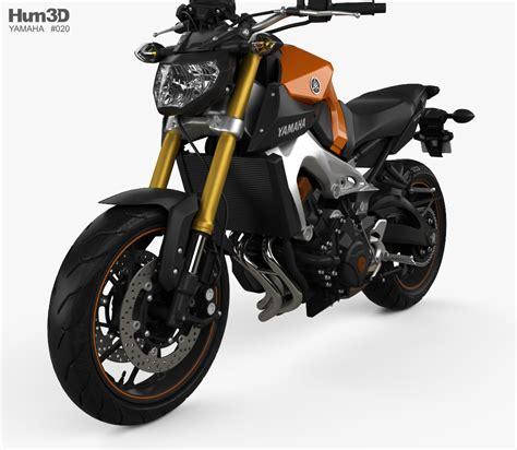 Yamaha Mt09 2014 3d Model Hum3d