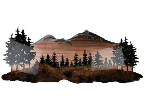 20 best mountain metal wall wall ideas