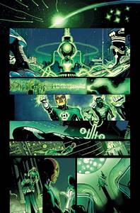 Green Lantern: First Look at Geoff Johns's Last Issue!