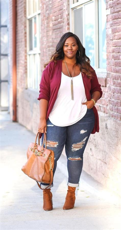 Casual Plus Size Winter Outfits You Have Try