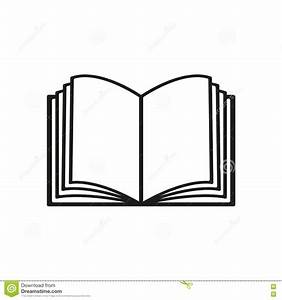 The Open Book Icon  Manual And Tutorial  Instruction